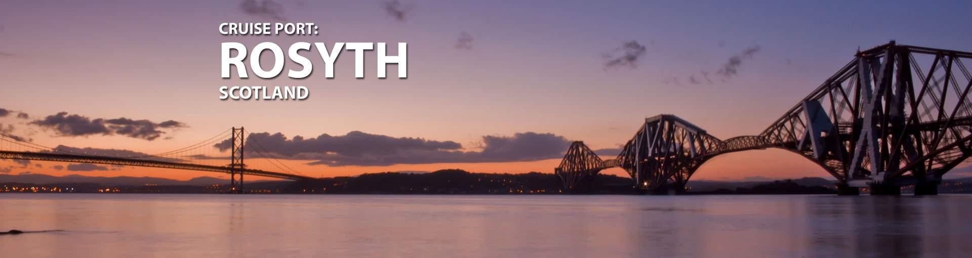 Cruises to Rosyth, Scotland