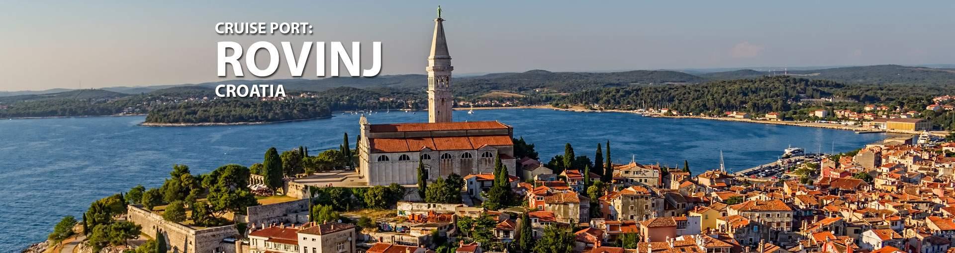 Cruises to Rovinj, Croatia