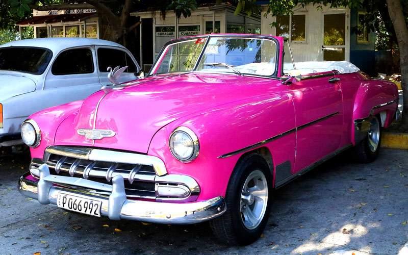 Vintage American Car in Cuba