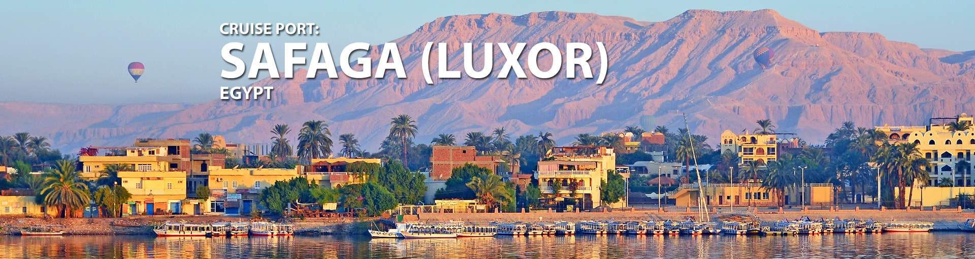 Cruises to Safaga (Luxor Karnak), Egypt