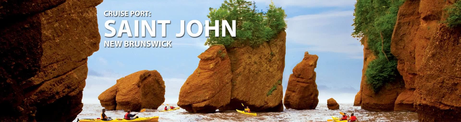 Cruises to Saint John, New Brunswick