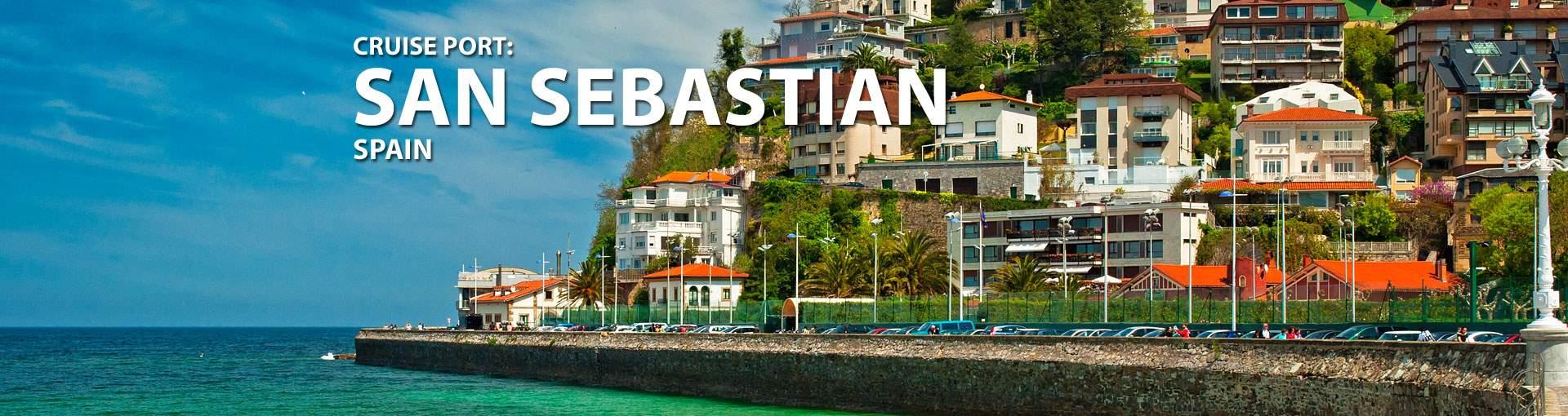 Cruises to San Sebastian, Spain