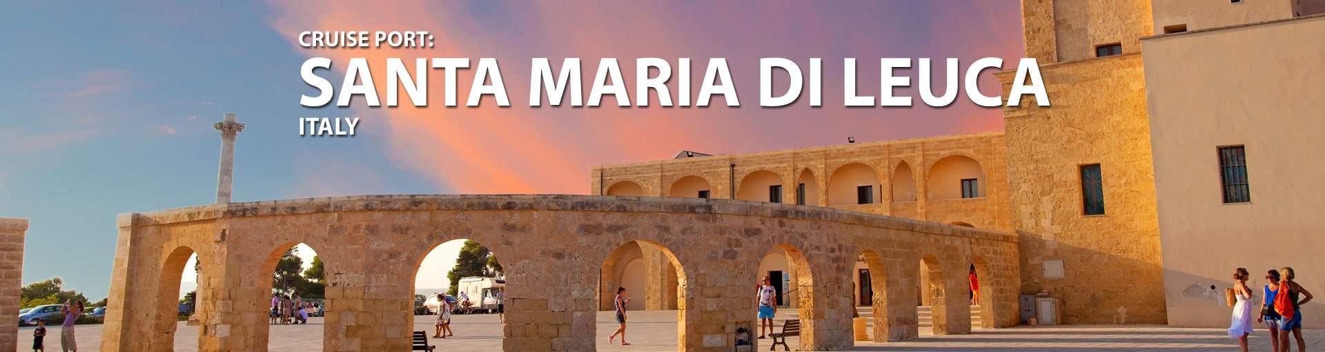 Cruises to Santa Maria Di Leuca, Italy