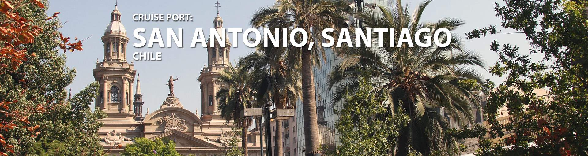 Banner for San Antonio, Santiago, Chile port