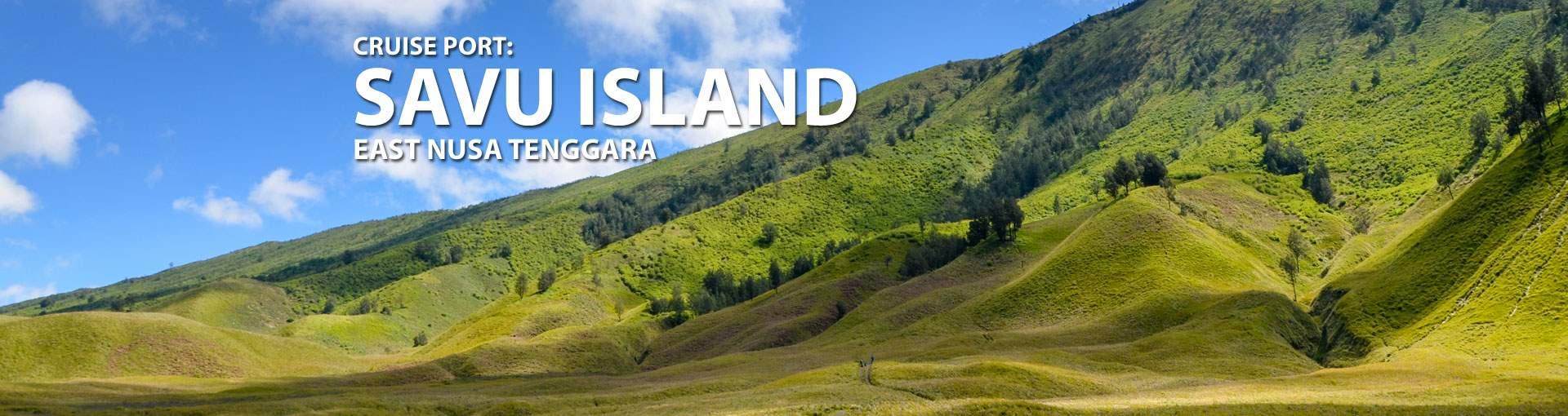 Cruises to Savu Island, East Nusa Tenggara