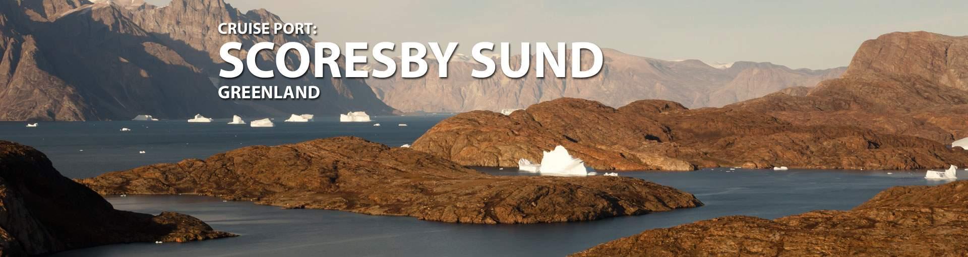 Cruises to Scoresby Sund, Greenland