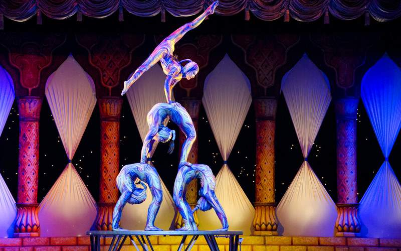 Take in an acrobatic performance in China