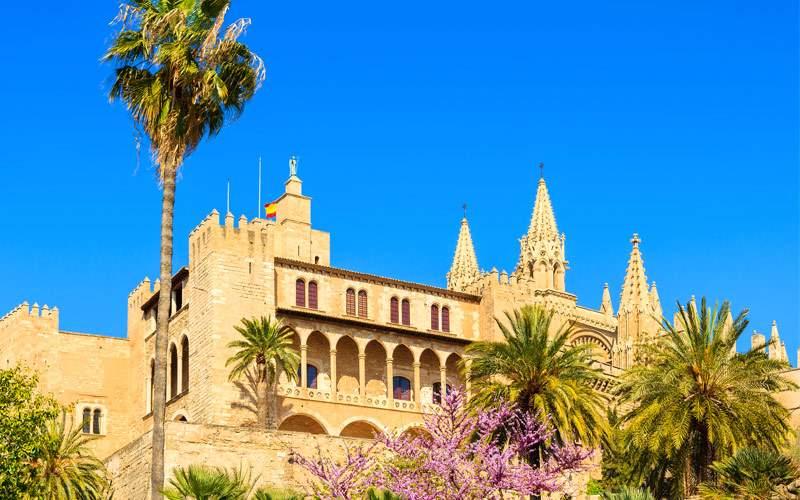 Almudaina Palace Palma de Mallorca Seabourn