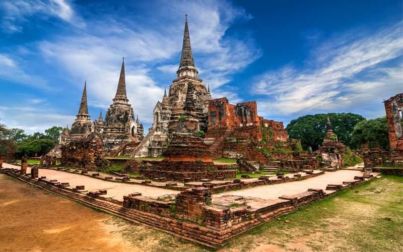 Wat Phra Sri Sanphet temple Thailand Seabourn Asia