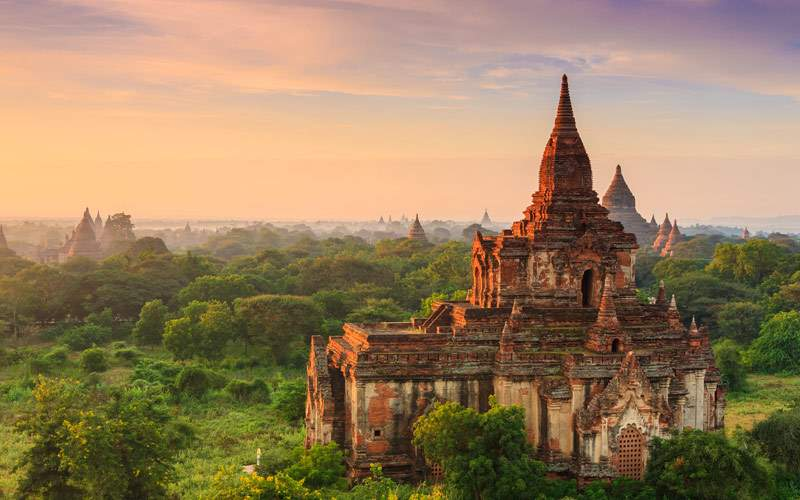 Ancient Temples in Bagan, Myanmar Seabourn Asia