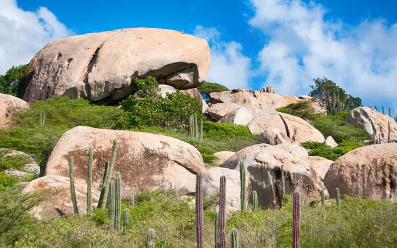 Ayo Rock Formation, Aruba Seabourn Caribbean