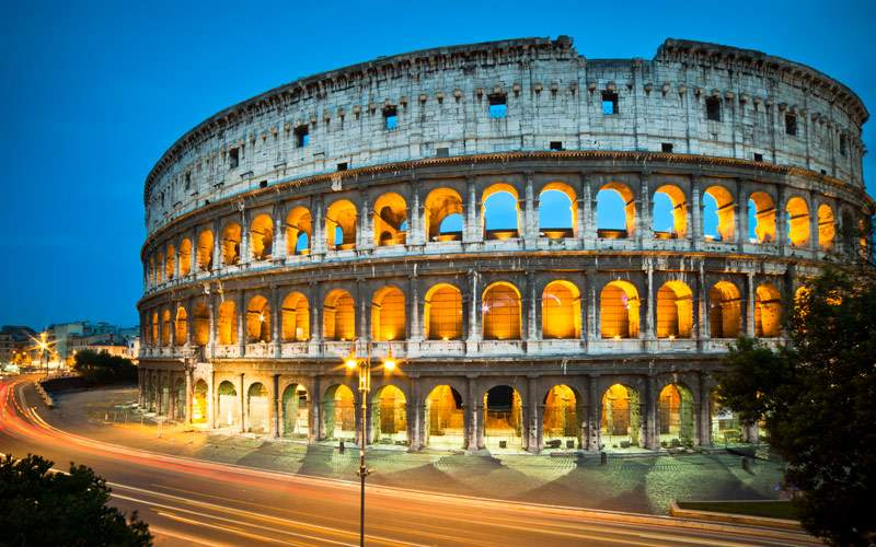 Colosseum, Rome - Italy Seabourn Mediterranean