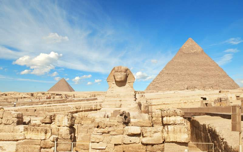 Pyramid of Pharaoh Khufu in Egypt Seabourn Africa