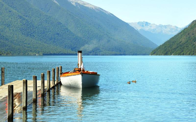 Lake Rotoiti in New Zealand Seabourn South Pacific