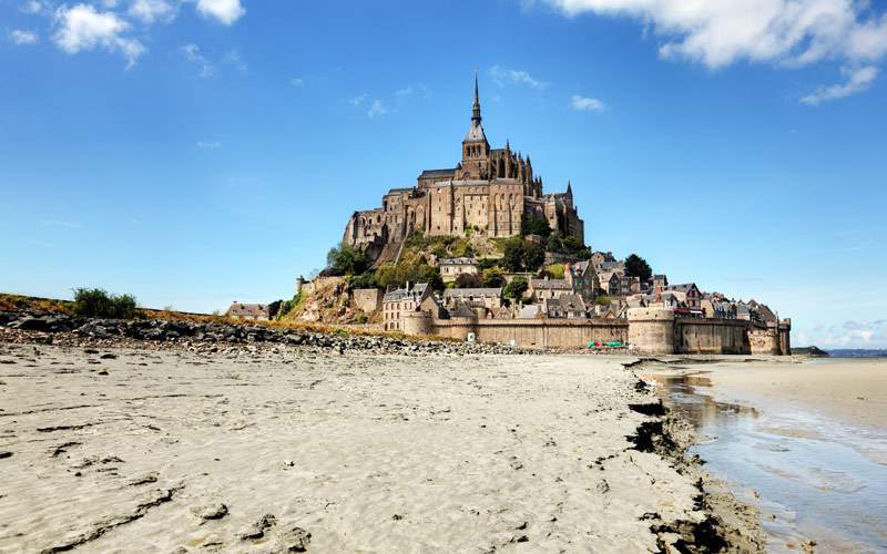 Le Mont Saint-Michel, Normandy Seabourn Europe