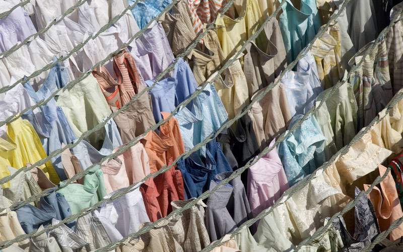 Dhobi Ghats central laundry Seabourn Africa