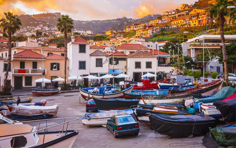 Camara de Lobos, Madeira Seabourn Transatlantic