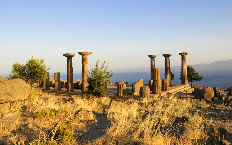 Temple Athena, Assos Turkey Seabourn Transatlantic