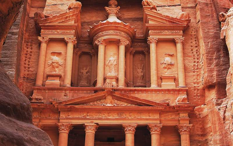 The Treasury at Petra, Jordan Seabourn Africa