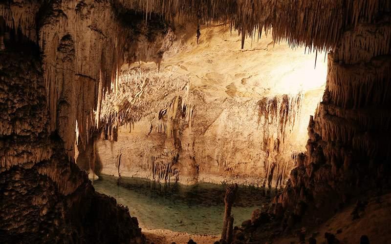 Crystal Caves in St. George, Bermuda