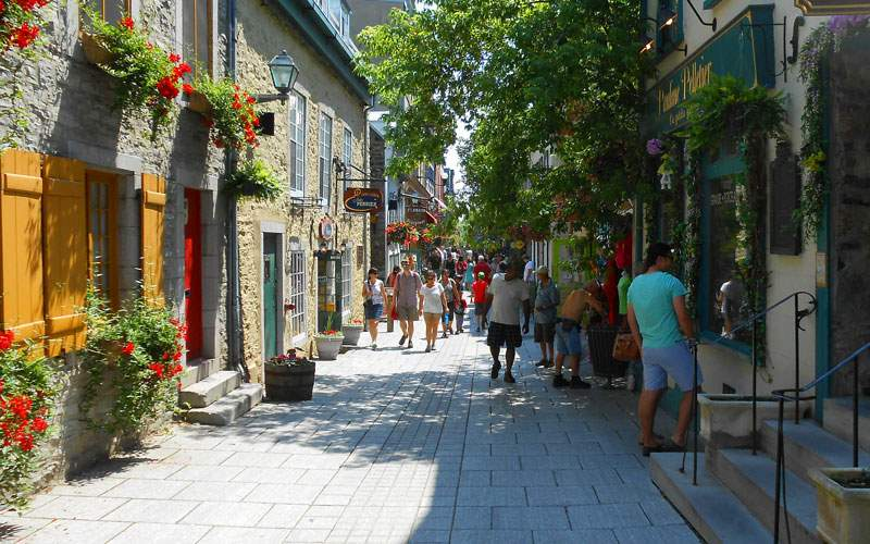 Walk the Streets of Old Quebec City