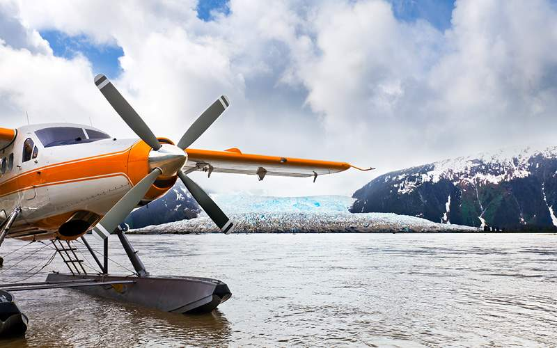 Seaplane or Float plane in Alaska
