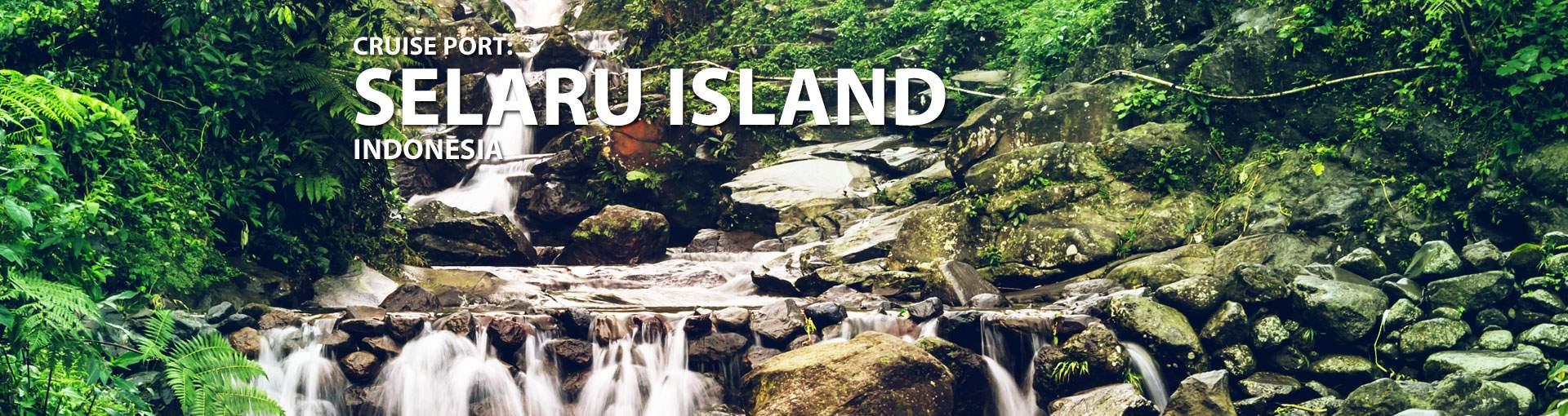 Cruises to Selaru Island, Indonesia