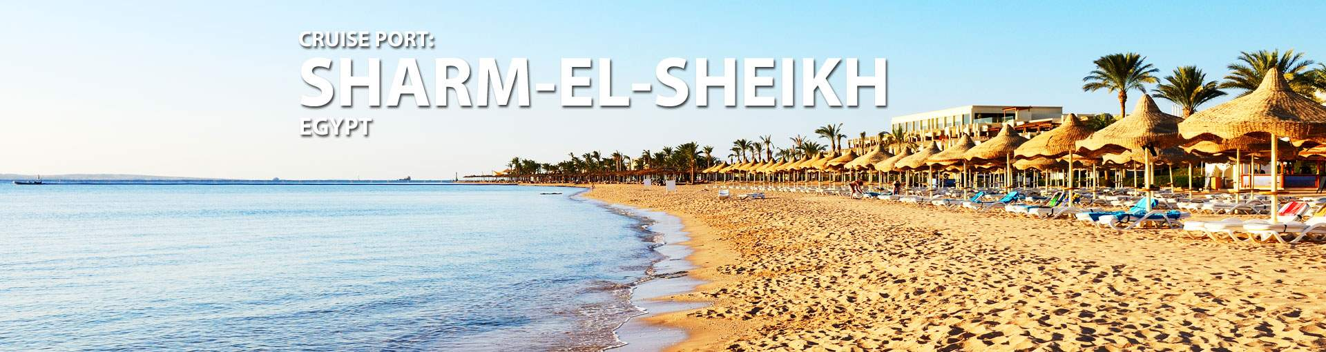 Cruises to Sharm-El-Sheikh, Egypt
