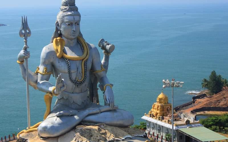 Shiva Statue in Murudeshwar Karnataka India