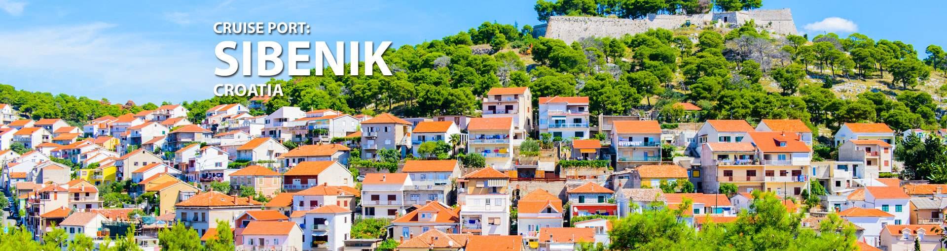 Cruises to Sibenik, Croatia