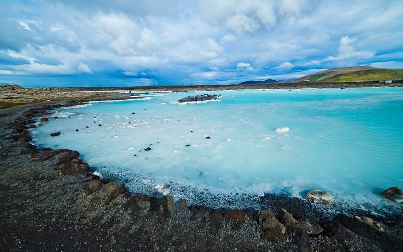 Geothermal bath Reykjavik Silversea Transatlantic
