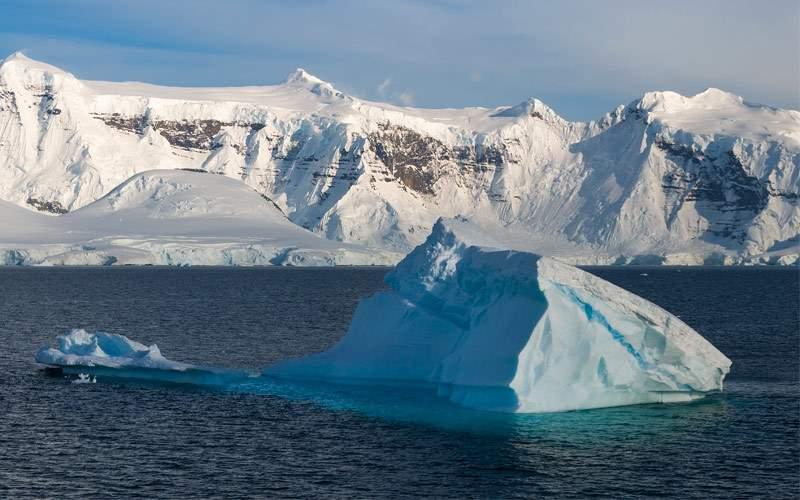 Glaciers in Paradise Bay, Antarctica Silversea