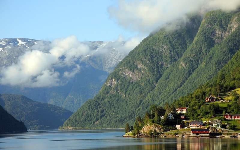 Hardangerfjord at Ulvik, Norway Silversea Europe