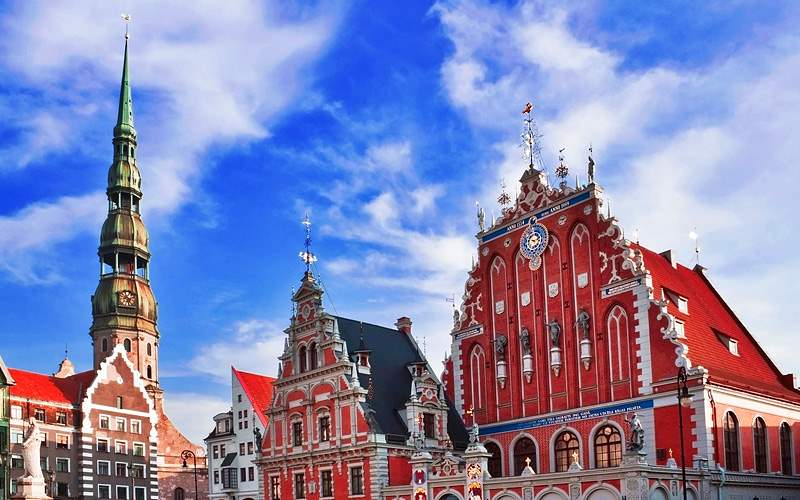 House of the Blackheads in Riga Silversea Europe