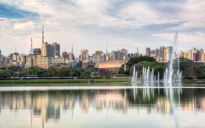 Ibirapuera Park, Sao Paulo Silversea South America