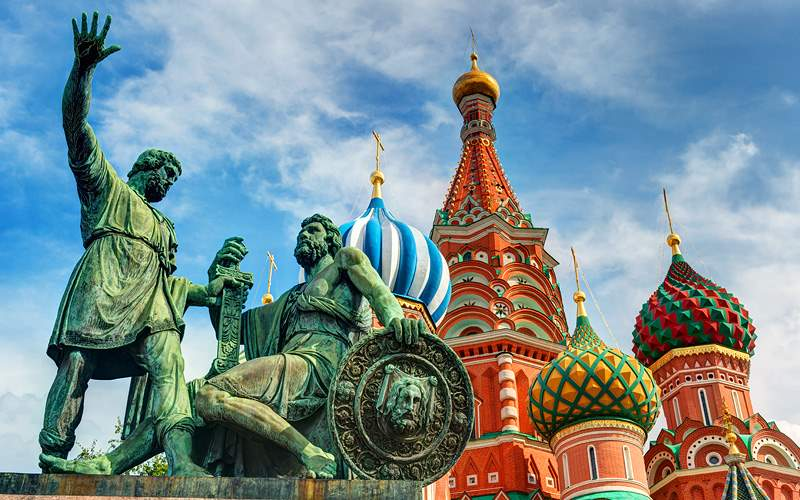 Monuments in Red Square in Moscow Silversea Europe