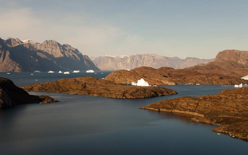 Scoresby Sound in Greenland Silversea Expedition