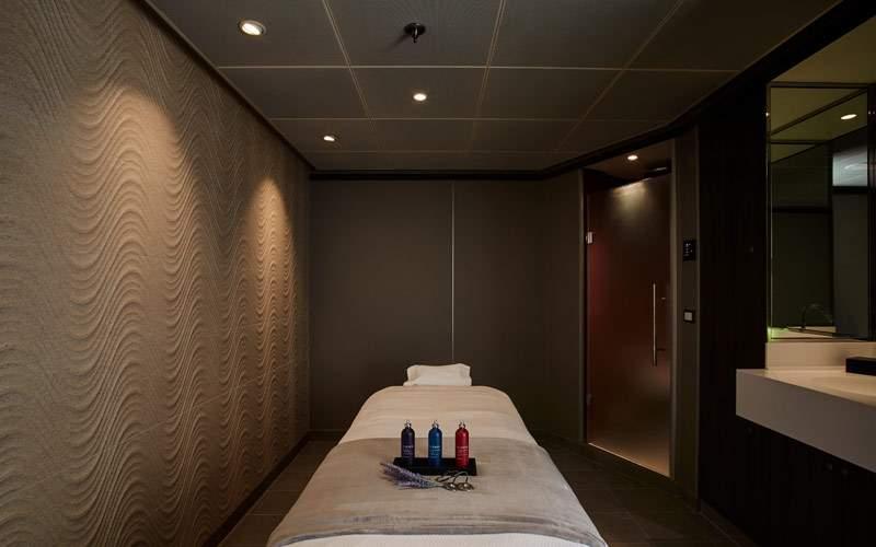 Treat yourself to a massage in the Zagara Spa