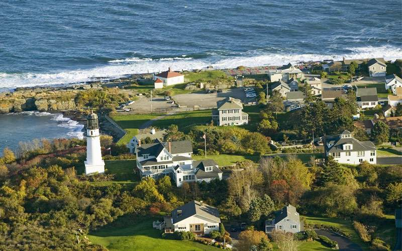 Lighthouse Cape Elizabeth, Maine Silversea Canada