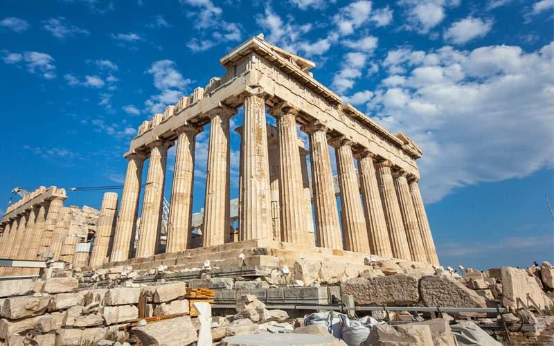 Acropolis of Athens Greece Silversea Mediterranean