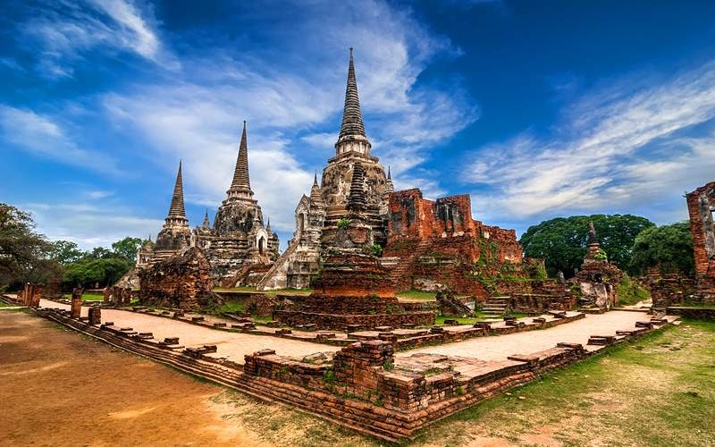 Wat Phra Sri Sanphet Thailand Silversea World