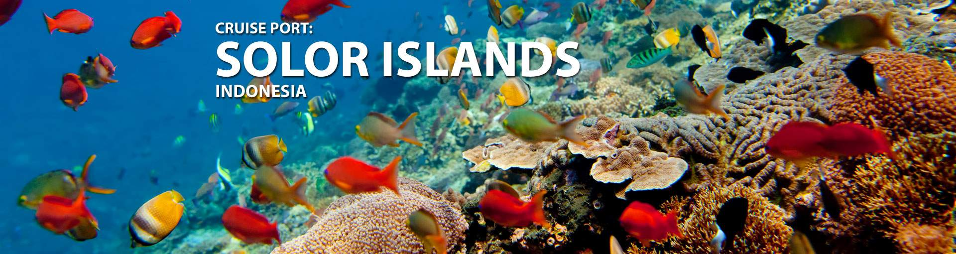 Cruises to Solor Islands, Indonesia