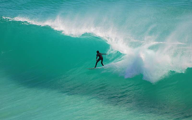 South African Surfer