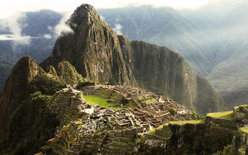 Machu Picchu Inca Lost city, Peru