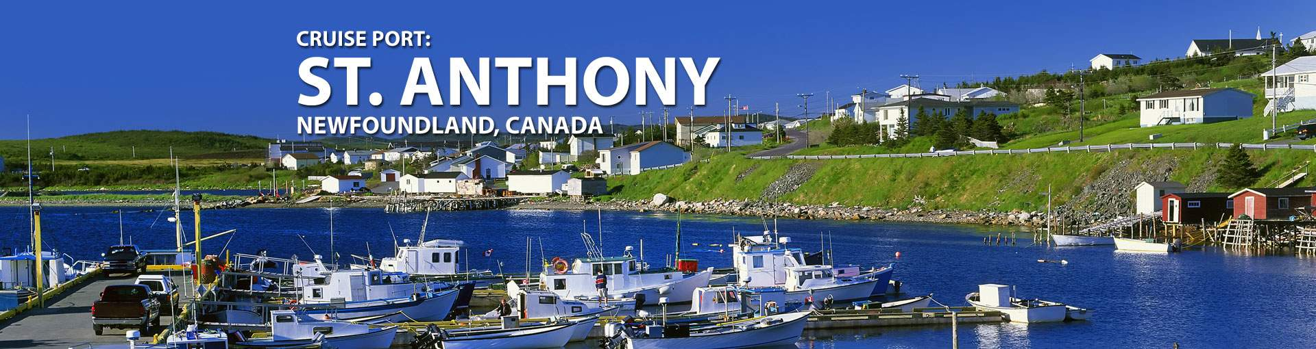 Cruises to St. Anthony, Newfoundland