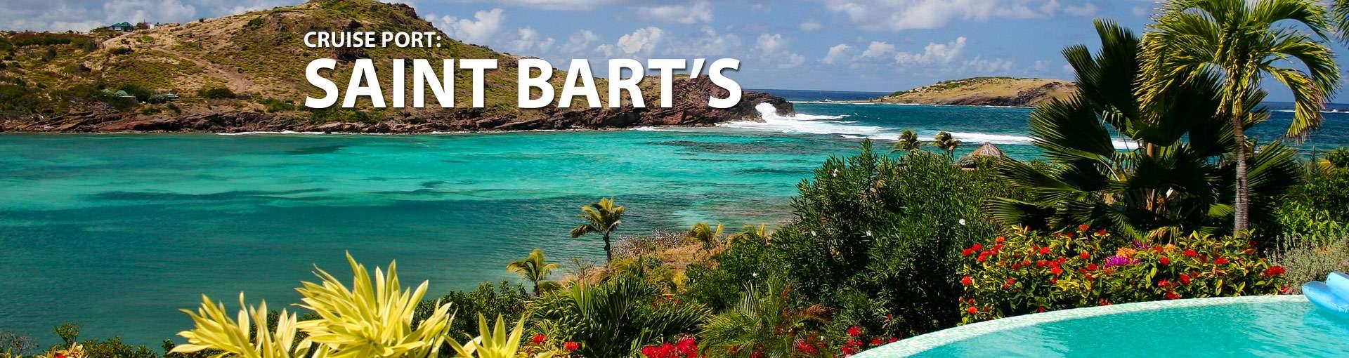 Cruises to St. Barts (St. Barthelemy)