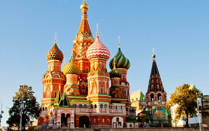 St. Basil Cathedral Red Square Moscow