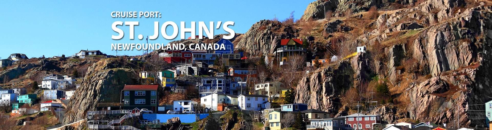 Cruises to St. Johns, Newfoundland