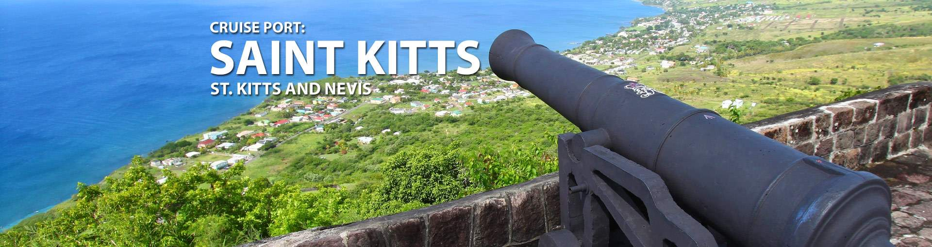Cruises to St. Kitts, St. Kitts and Nevis