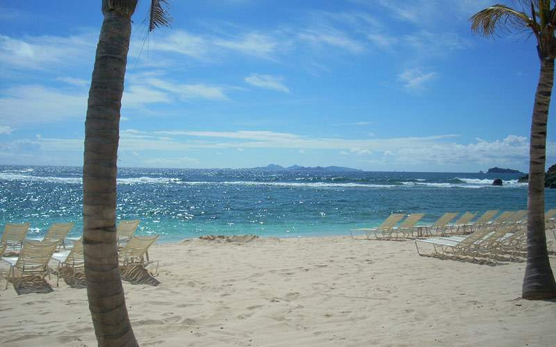 Beach in St. Martin